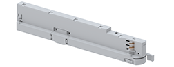 unipro A202 series luminaire Adapter with integrated LED Driver white
